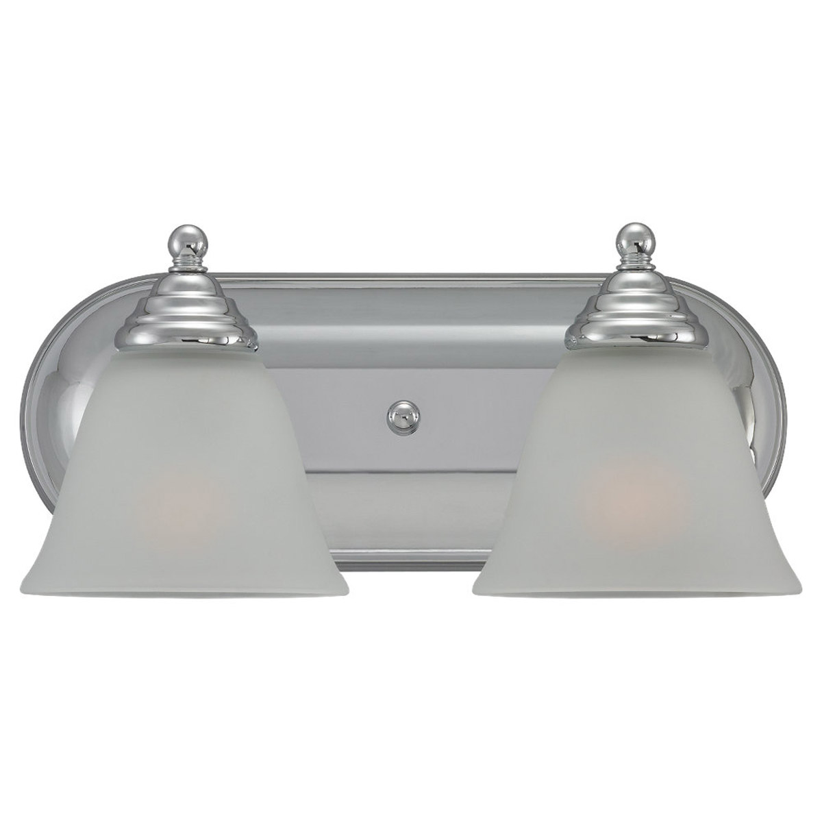 Sea Gull Lighting Albany 2 Light Wall / Bath / Vanity in Chrome 44576-05