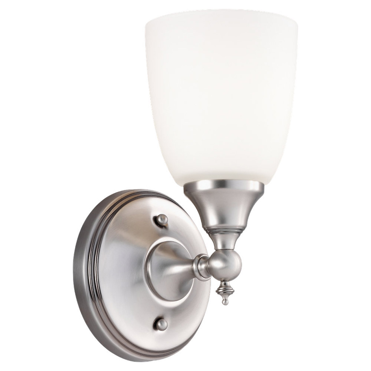 Sea Gull Lighting Finitude 1 Light Bath Vanity in Antique Brushed Nickel 44615-965