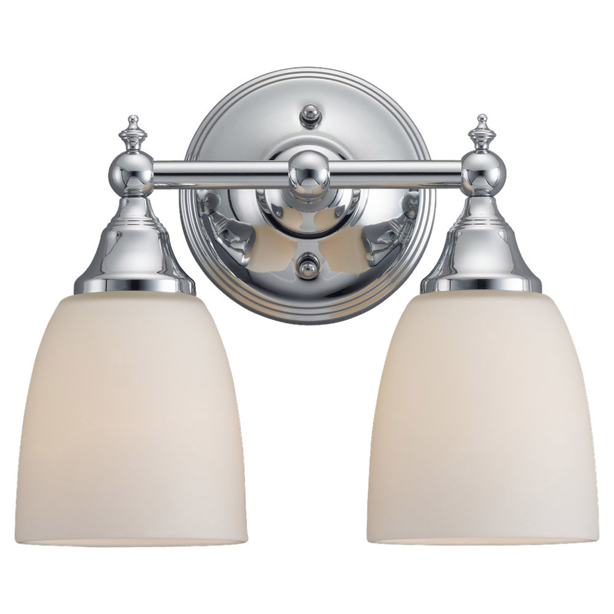 Sea Gull Lighting Finitude 2 Light Bath Vanity in Chrome 44616-05