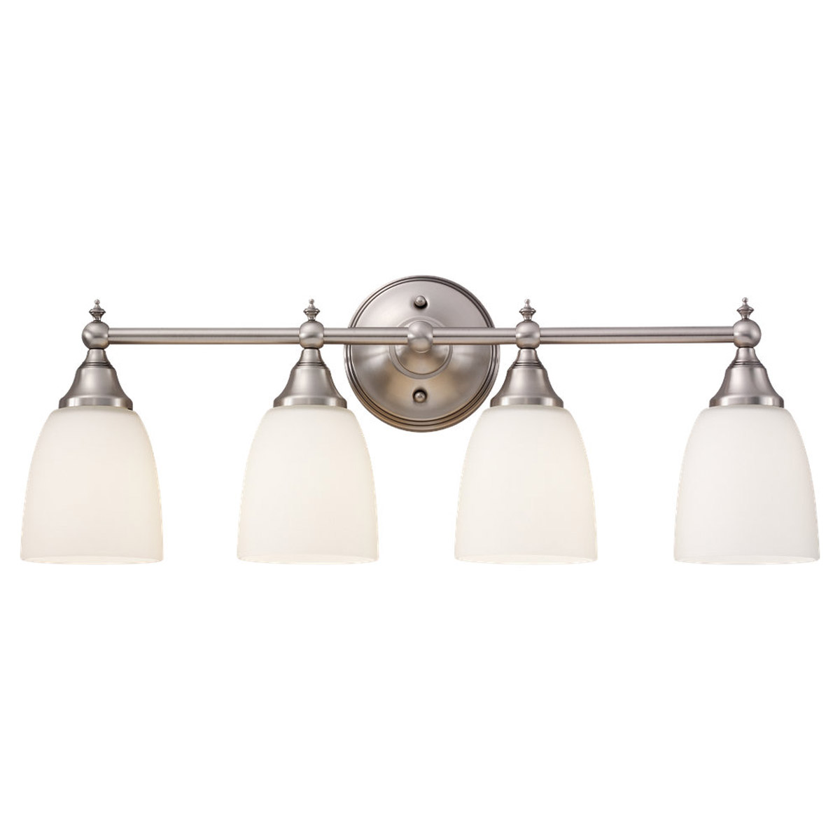 Sea Gull Lighting Finitude 4 Light Bath Vanity in Antique Brushed Nickel 44618-965 photo