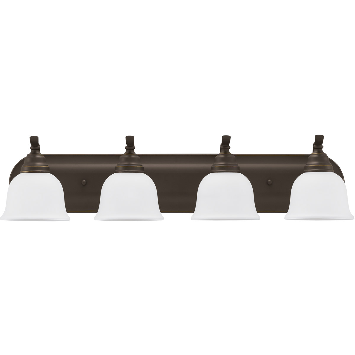 Sea Gull 44628-782 Wheaton 4 Light 32 inch Heirloom Bronze Bath Vanity Wall Light in Standard photo
