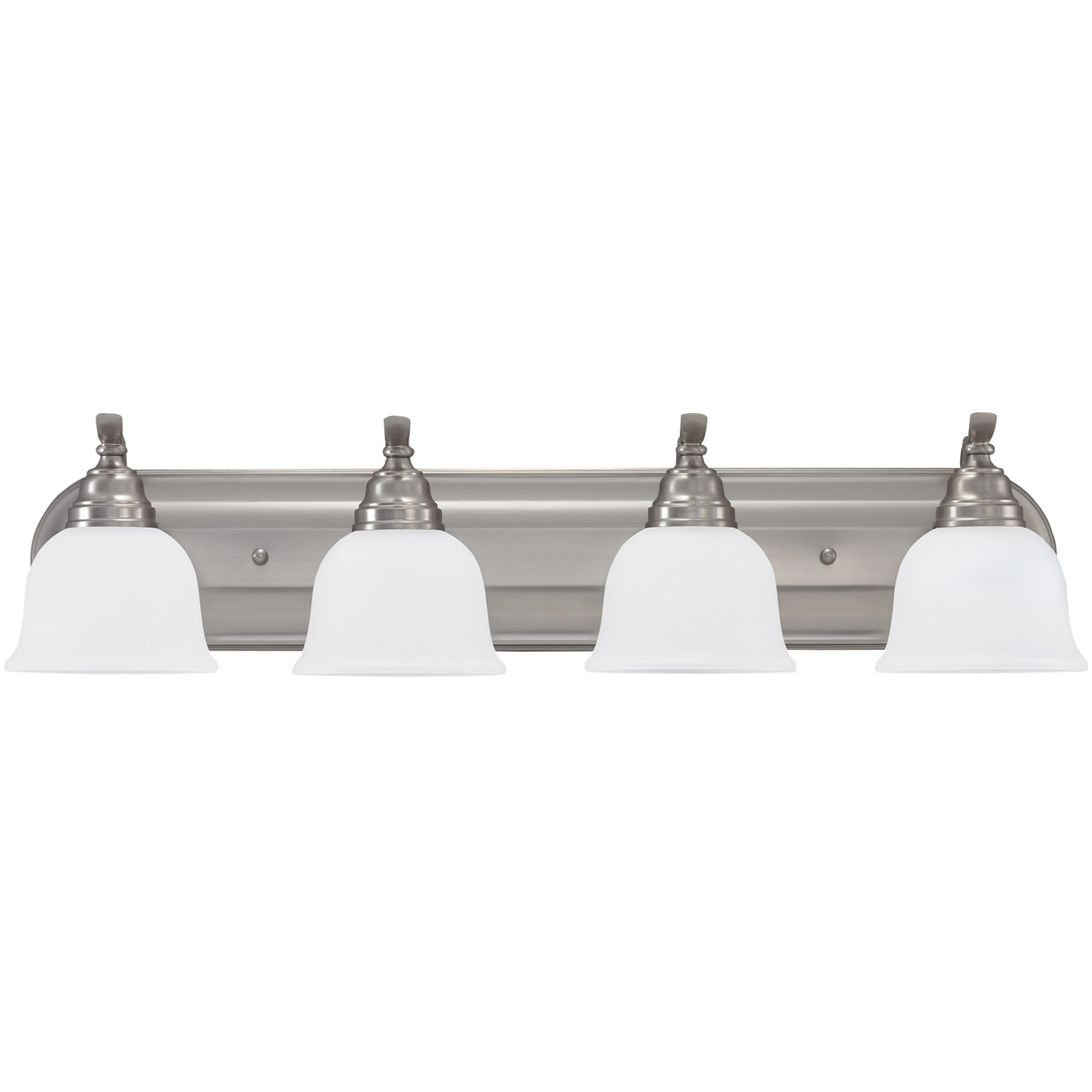 Sea Gull Lighting Wheaton 4 Light Bath Vanity in Brushed Nickel 44628-962