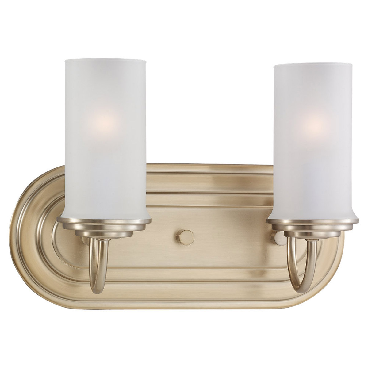 Sea Gull Lighting Wellington 2 Light Wall / Bath / Vanity in Satin Bronze 44656-848 photo