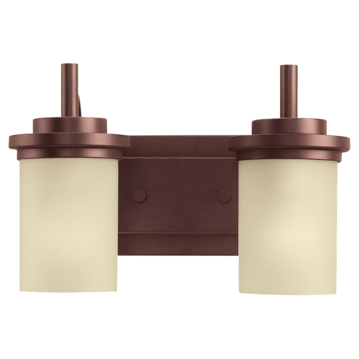 Sea Gull Lighting Winnetka 2 Light Wall / Bath / Vanity in Red Earth 44661-847 photo