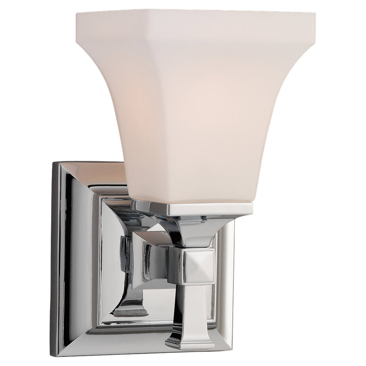 Sea Gull Lighting Melody 1 Light Bath Vanity in Chrome 44705-05