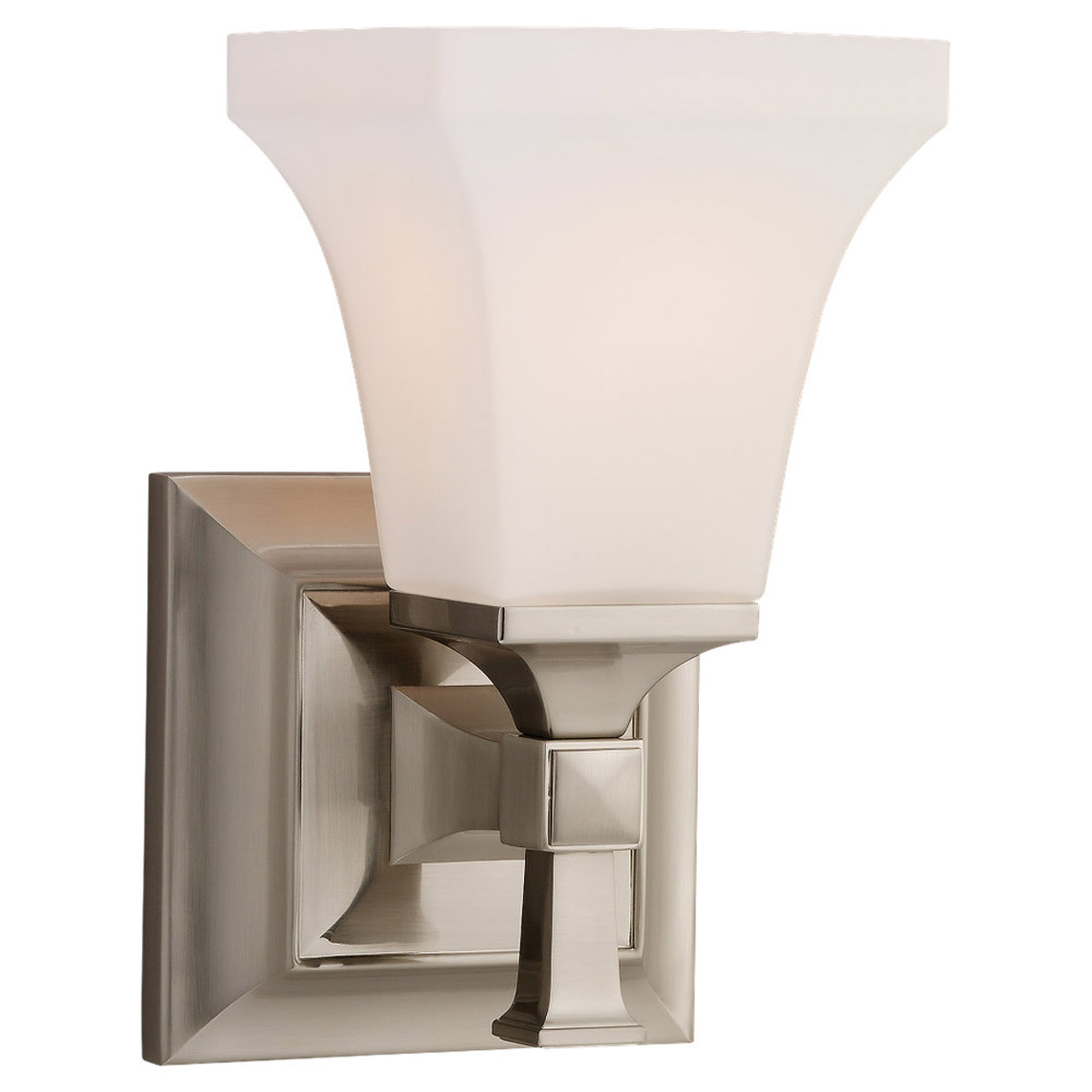 Sea Gull Lighting Melody 1 Light Bath Vanity in Brushed Nickel 44705-962 photo