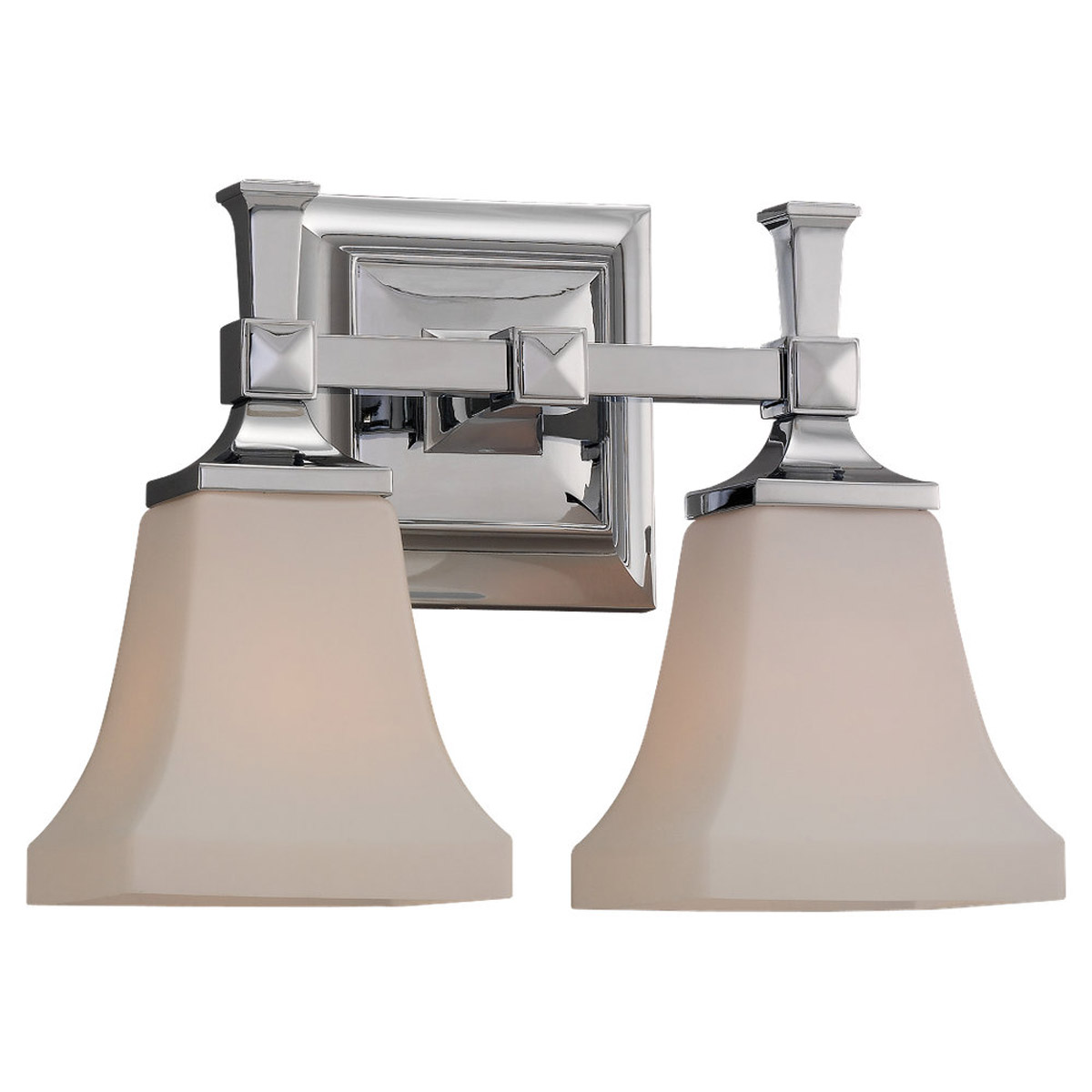 Sea Gull Lighting Melody 2 Light Bath Vanity in Chrome 44706-05