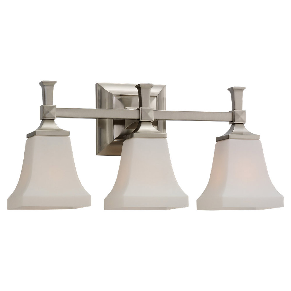 Sea Gull Lighting Melody 3 Light Bath Vanity in Brushed Nickel 44707-962