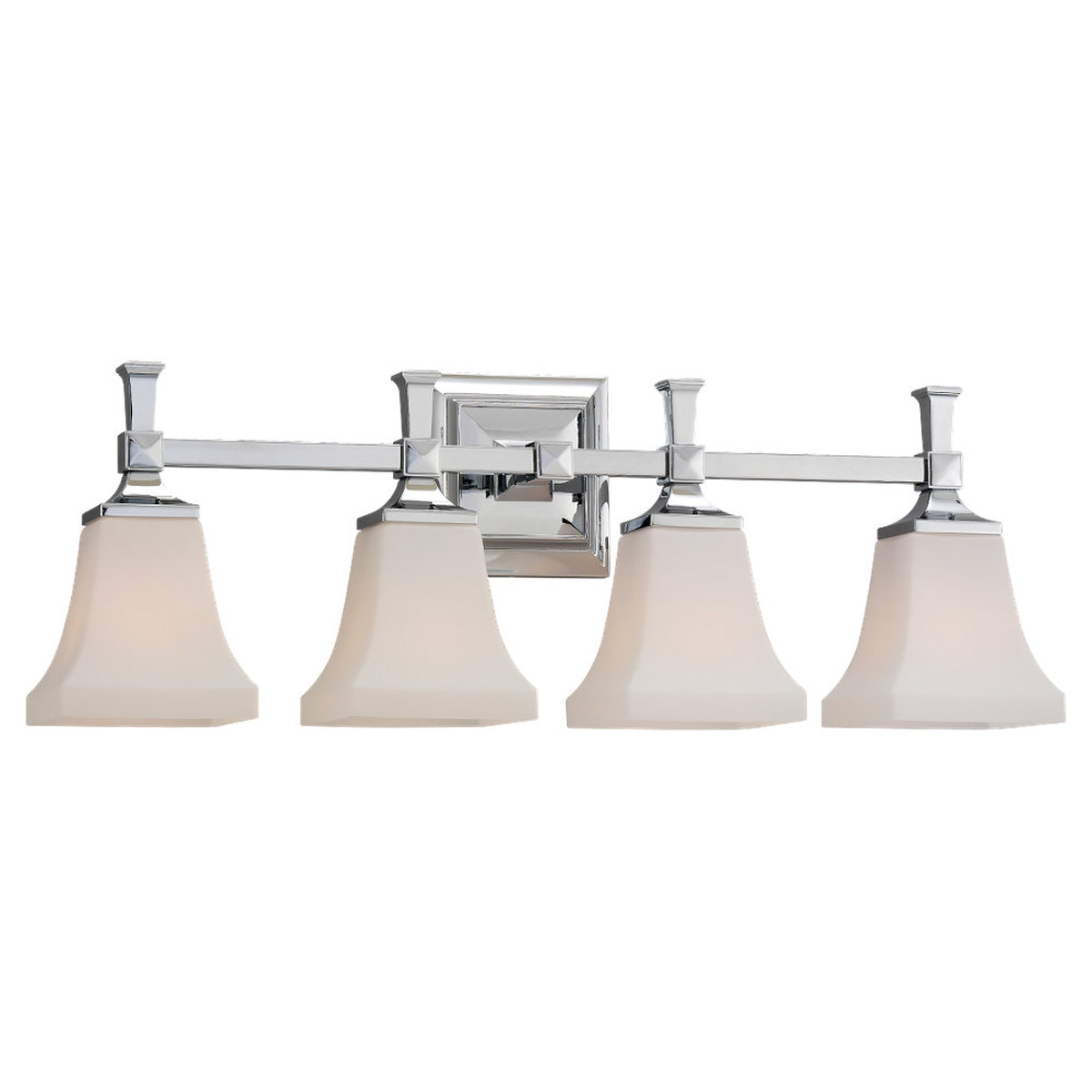 Sea Gull Lighting Melody 4 Light Bath Vanity in Chrome 44708-05