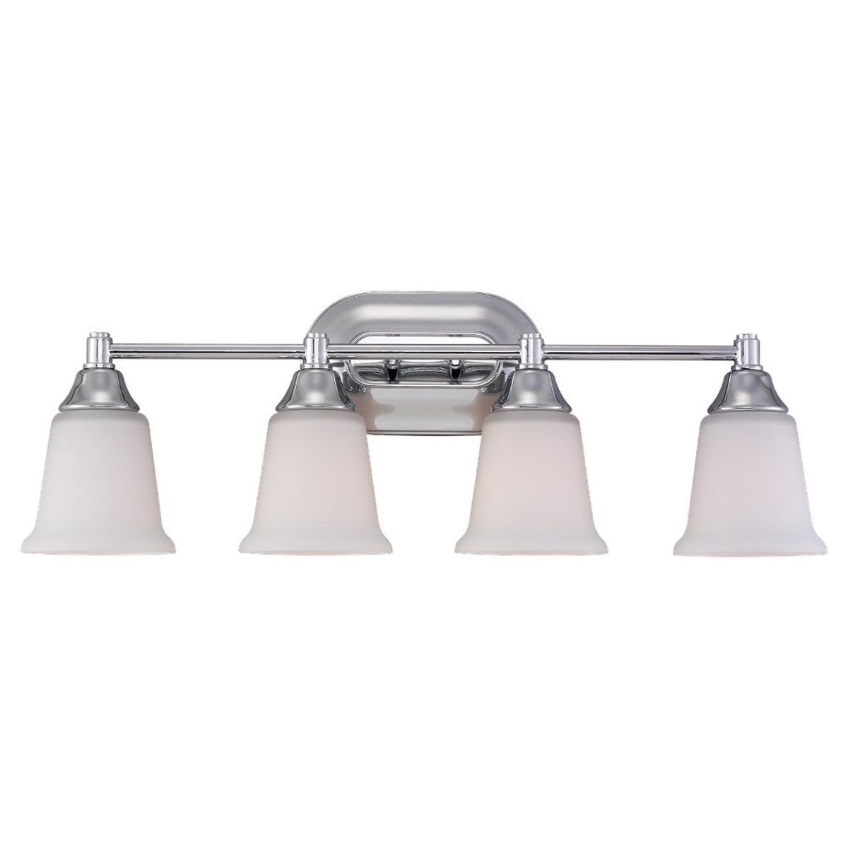 Sea Gull Lighting Belair 4 Light Fluorescent Wall/Bath/Vanity in Chrome 44793BLE-05 photo