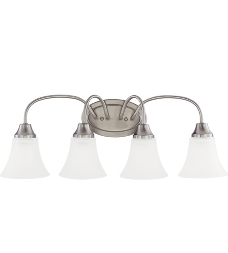 Sea Gull Holman 4 Light Bath Light in Brushed Nickel 44808-962