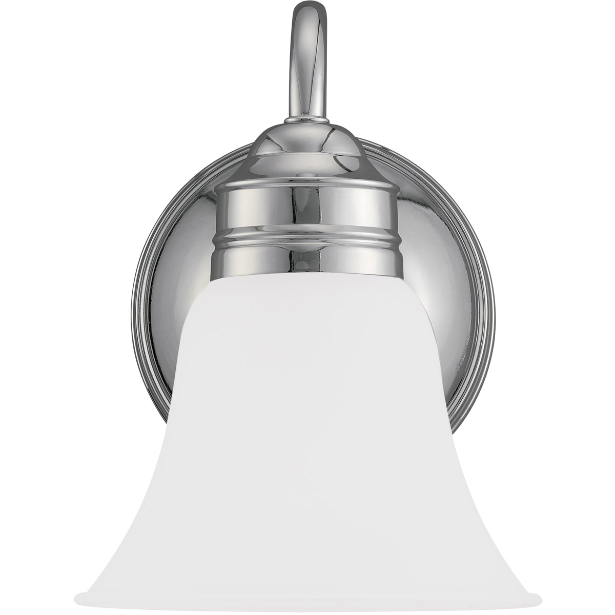 Sea Gull Lighting Gladstone 1 Light Bath Vanity in Chrome 44850-05