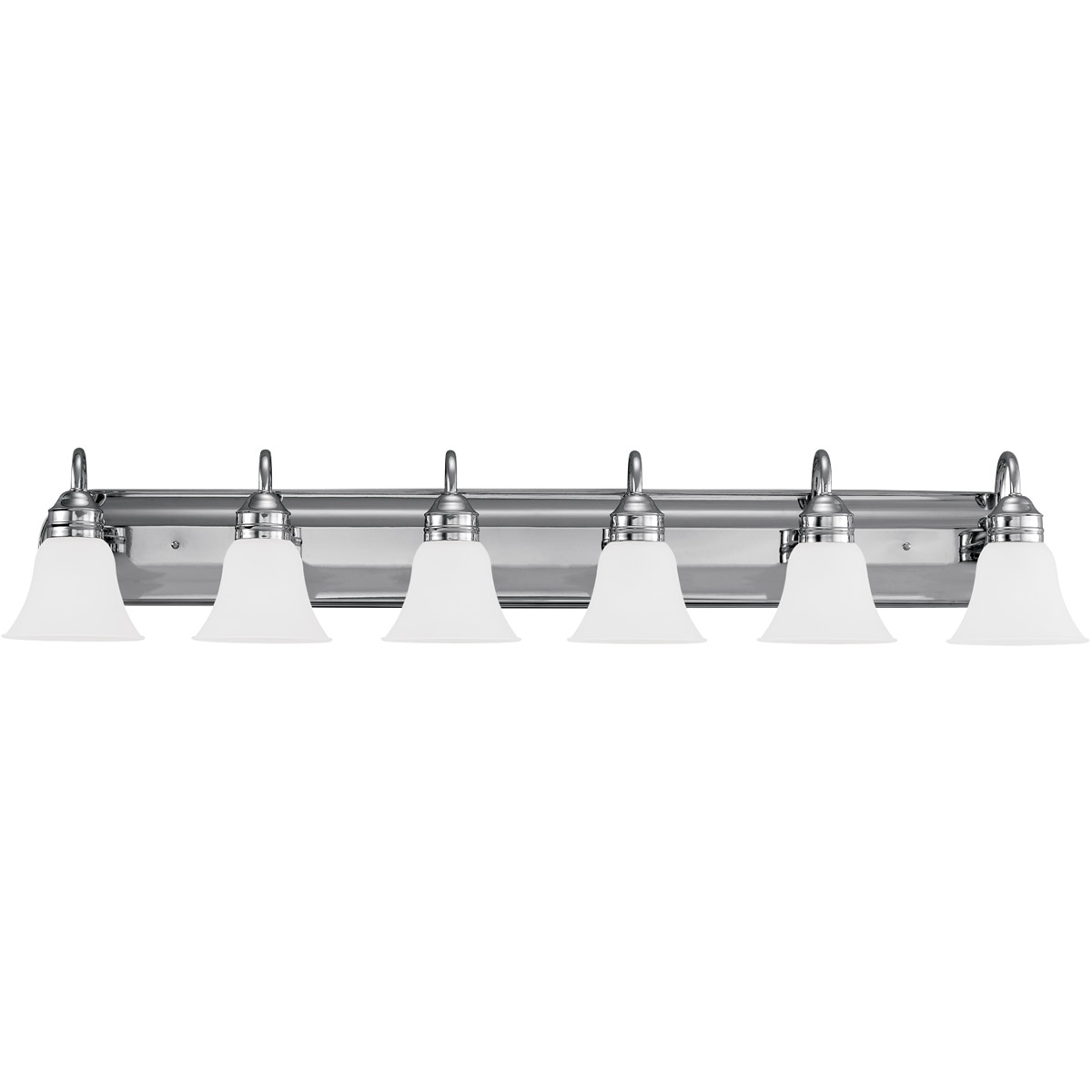 Sea Gull Lighting Gladstone 6 Light Bath Vanity in Chrome 44855-05