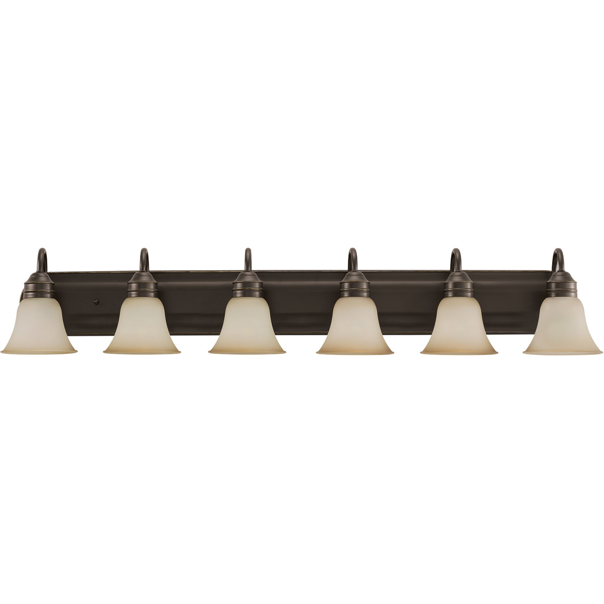 Sea Gull Lighting Gladstone 6 Light Bath Vanity in Heirloom Bronze 44855-782