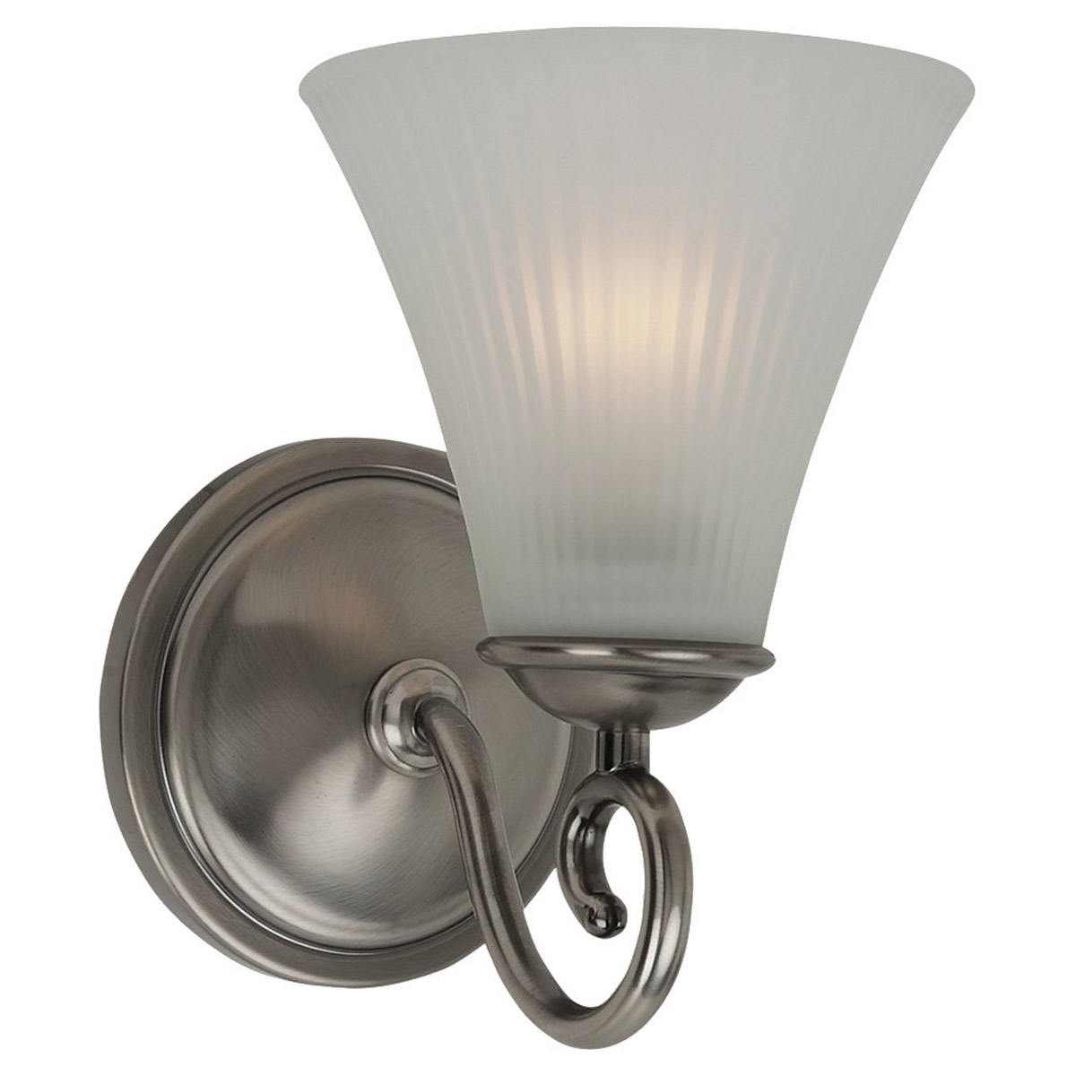 Sea Gull Lighting Joliet 1 Light Bath Vanity in Antique Brushed Nickel 44935-965