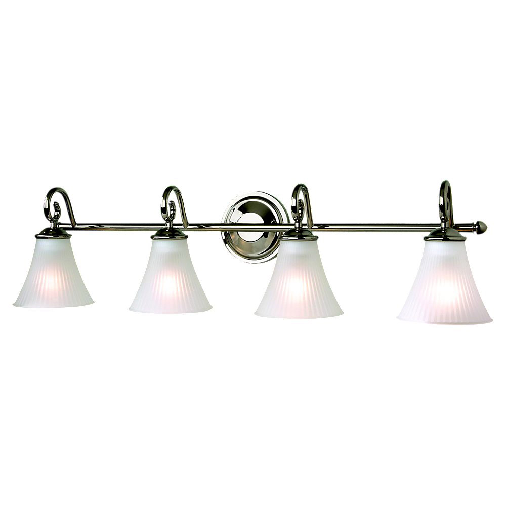 Sea Gull Lighting Joliet 4 Light Bath Vanity in Polished Nickel 44938-841
