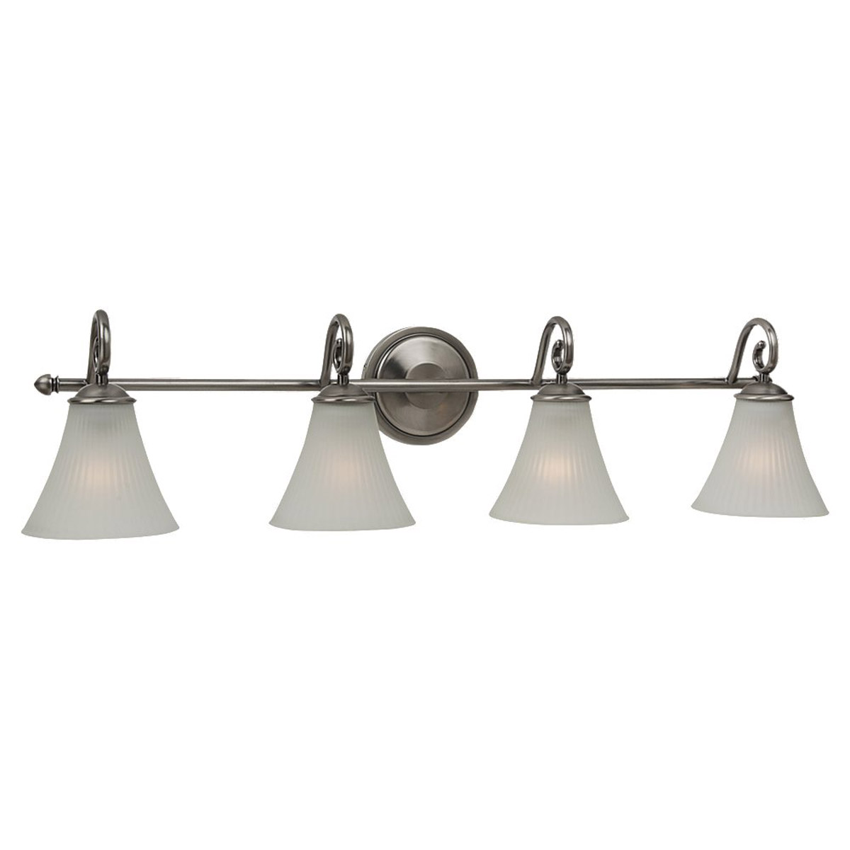 Sea Gull Lighting Joliet 4 Light Bath Vanity in Antique Brushed Nickel 44938-965