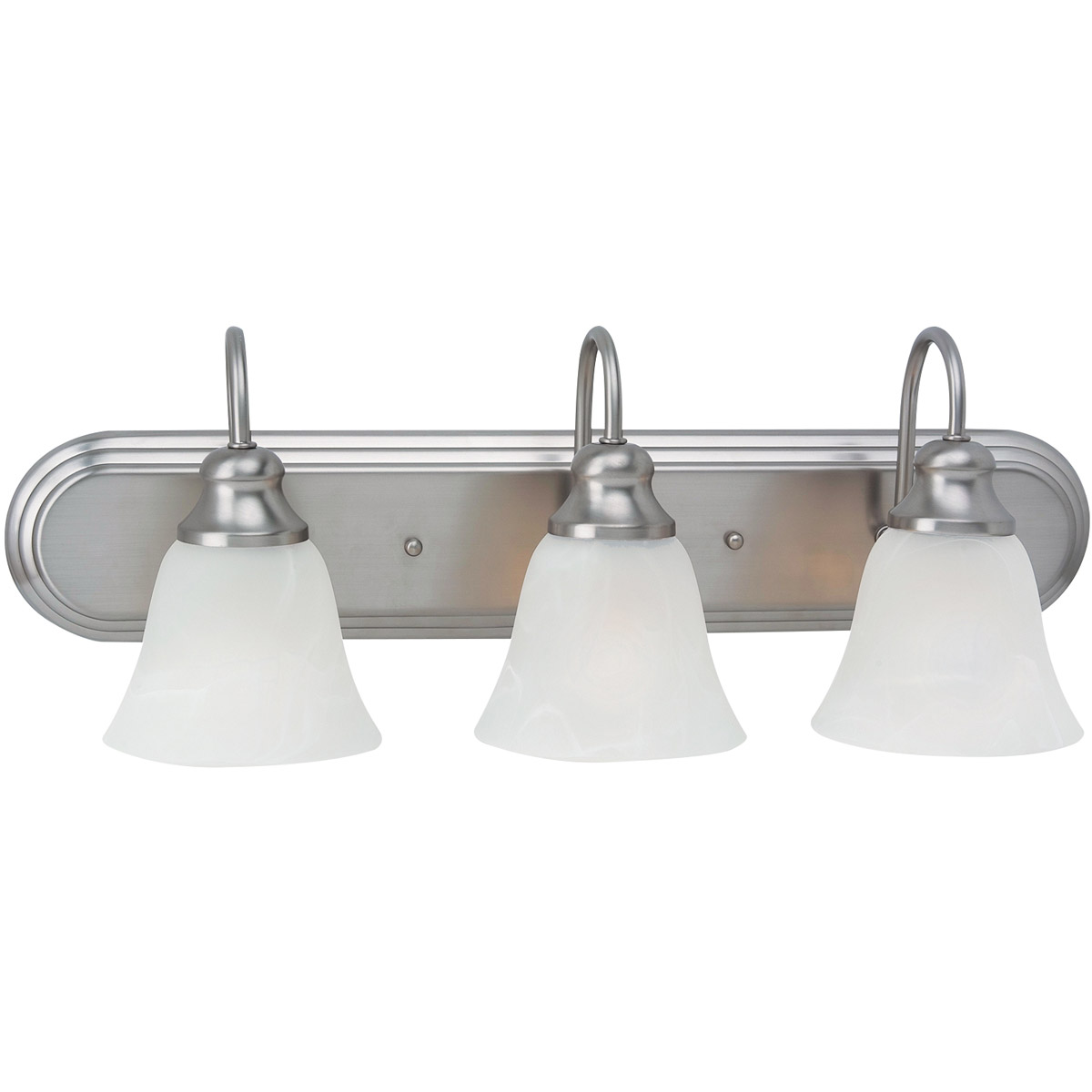 Sea Gull Lighting Windgate 3 Light Bath Vanity in Brushed Nickel 44941-962