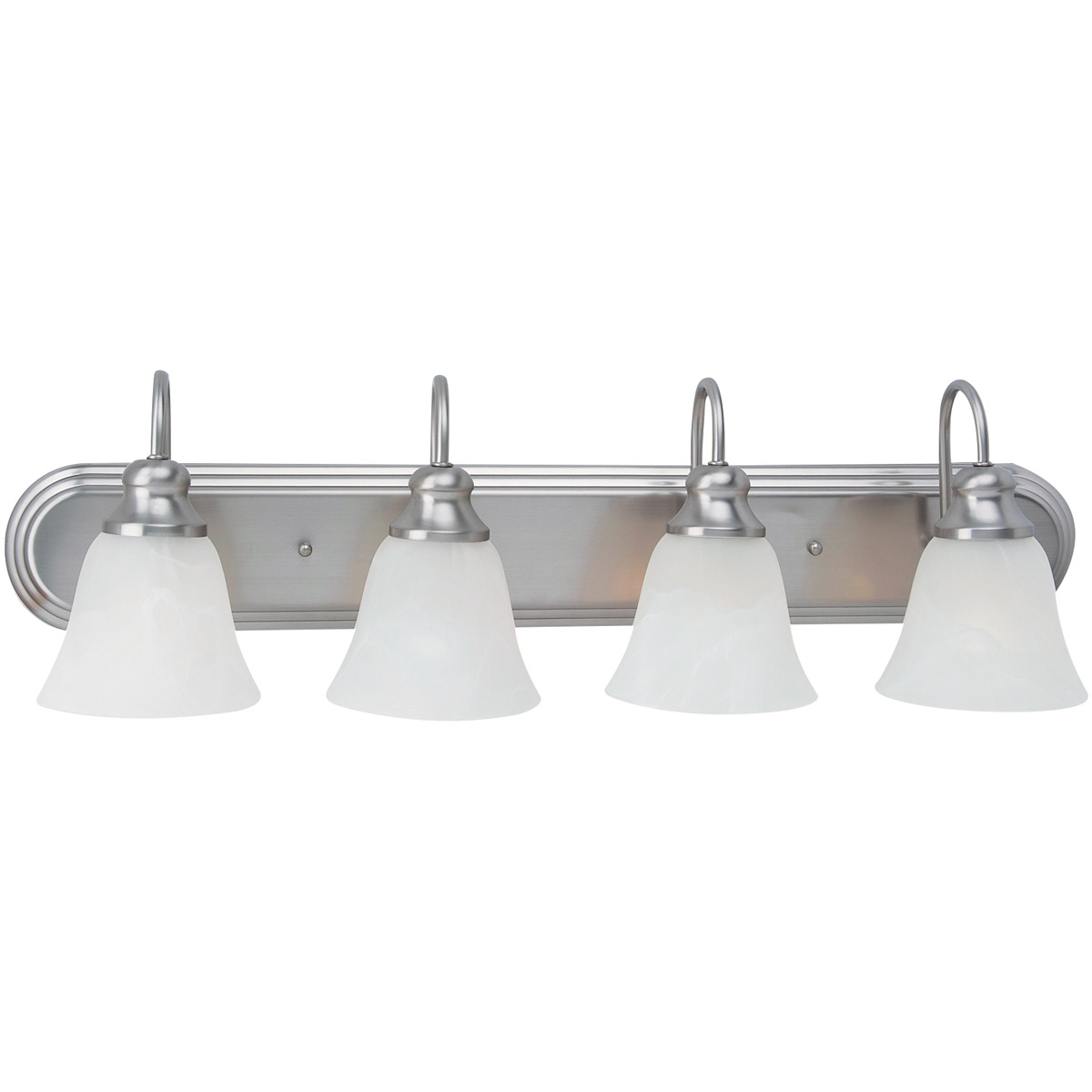 Sea Gull Lighting Windgate 4 Light Bath Vanity in Brushed Nickel 44942-962