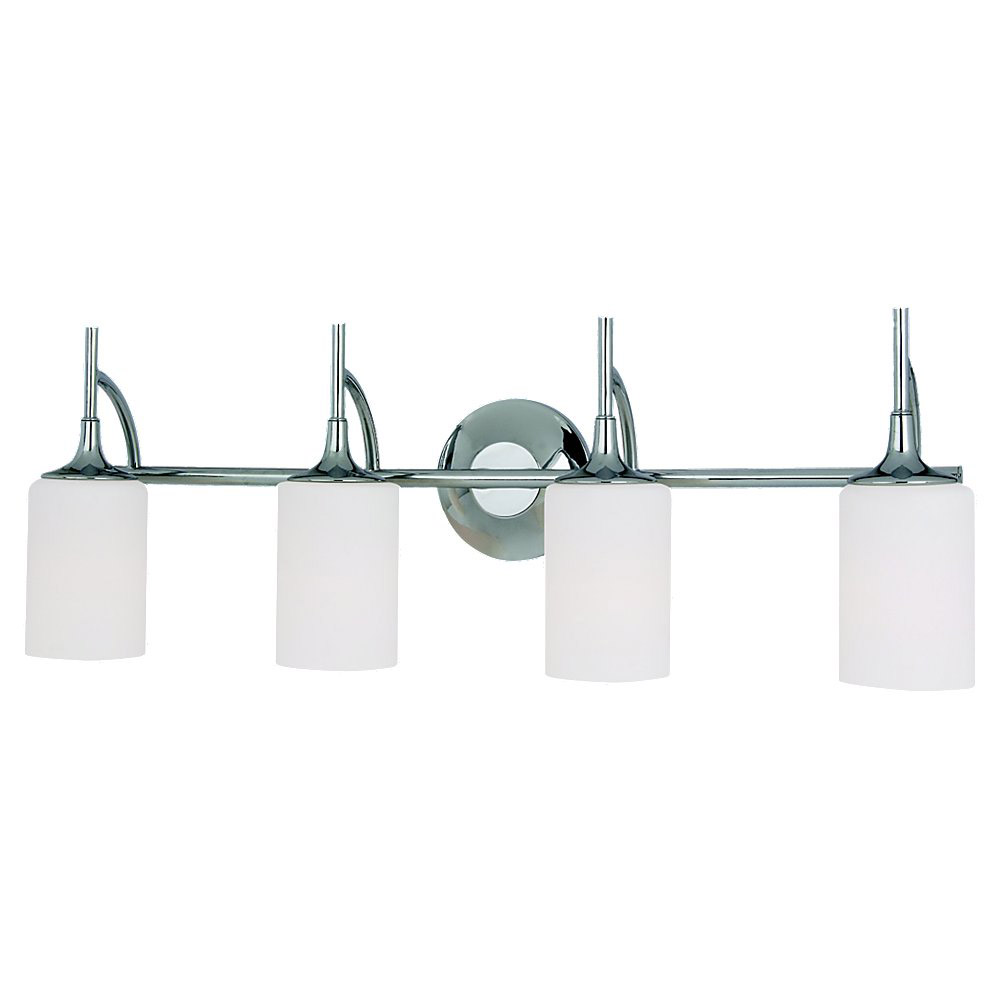 Sea Gull Lighting Stirling 4 Light Bath Vanity in Chrome 44955-05
