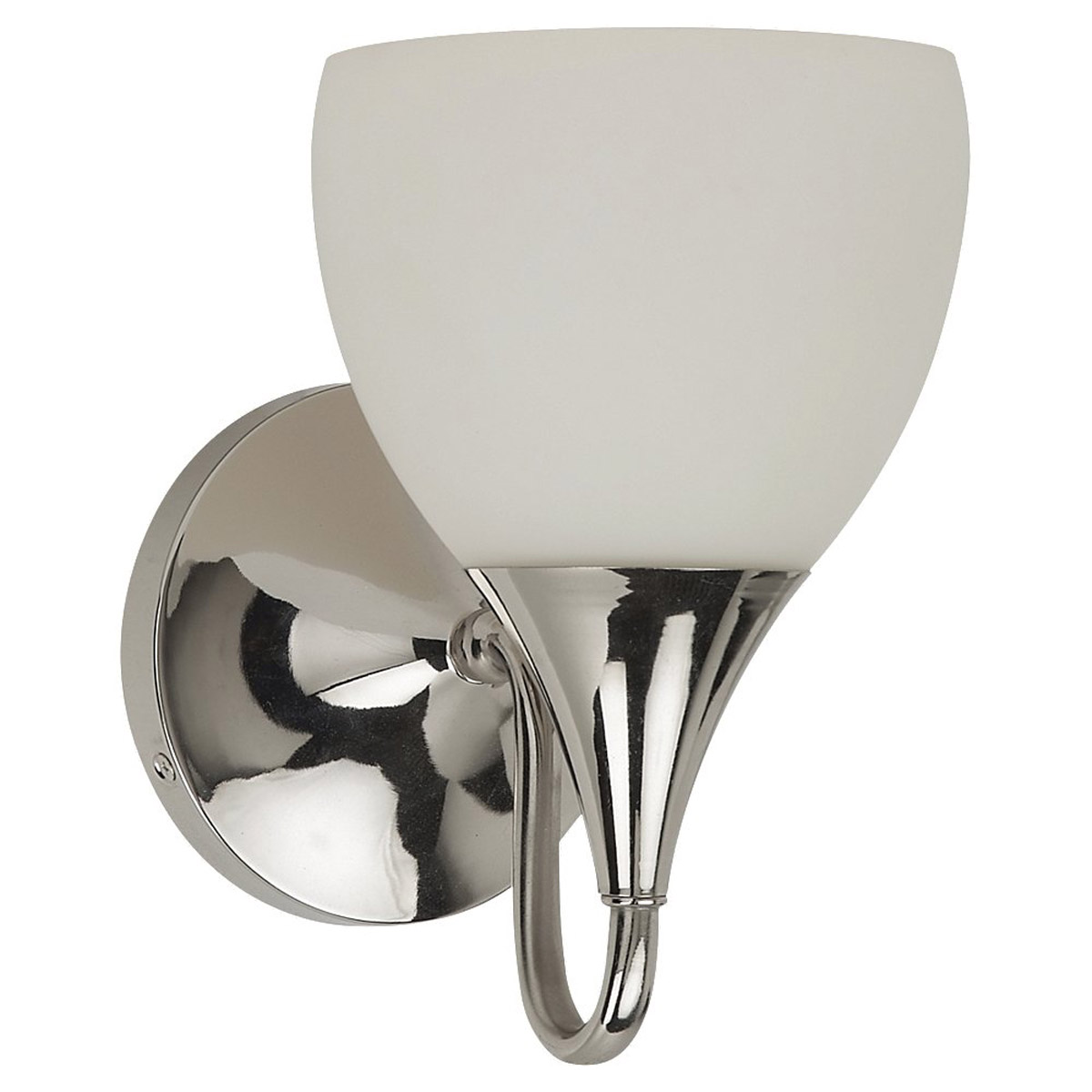 Sea Gull 44971-841 Solana 1 Light 6 inch Polished Nickel Bath Vanity Wall Light in Standard photo