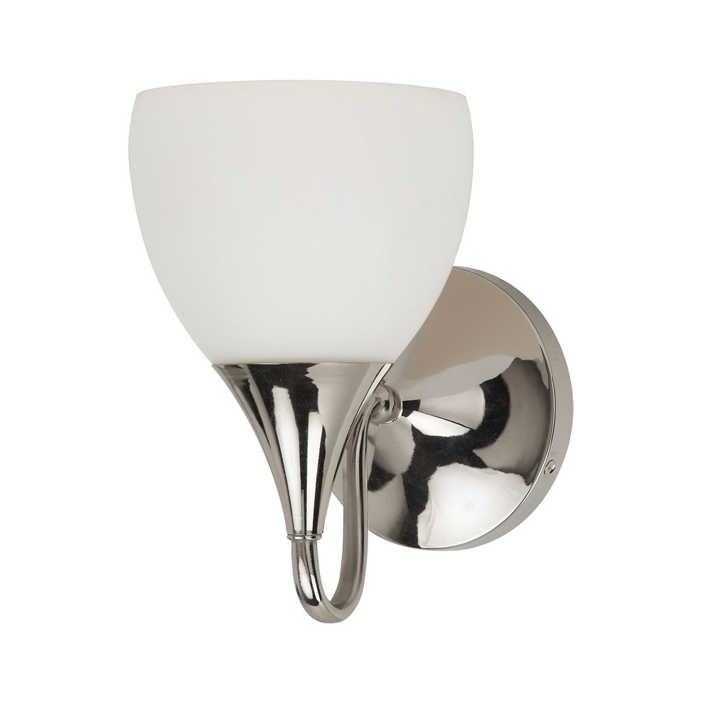 Sea Gull 44971BLE-841 Solana 1 Light 6 inch Polished Nickel Bath Vanity Wall Light in Fluorescent photo