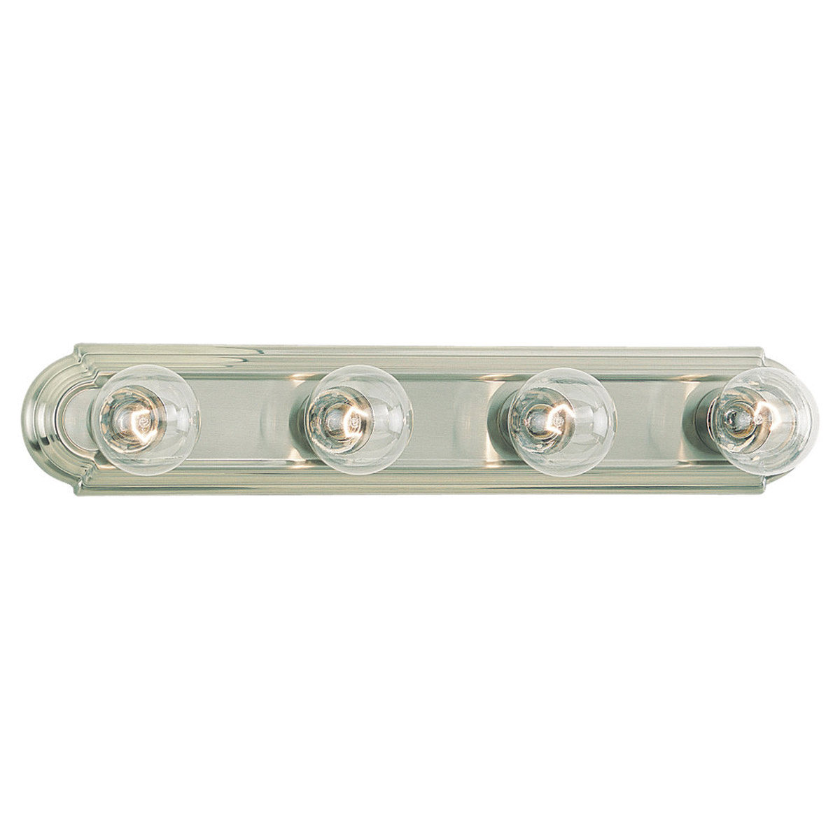 Sea Gull Lighting De-Lovely 4 Light Bath Vanity in Brushed Nickel 4701-962