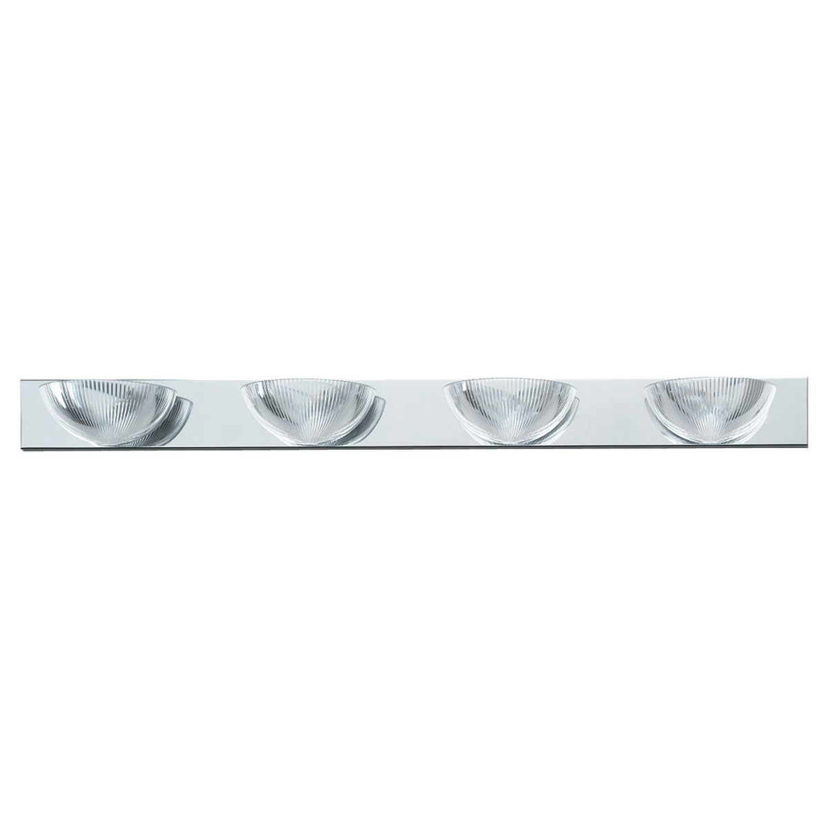 Sea Gull Lighting Oceanic 4 Light Bath Vanity in Chrome 4725-05