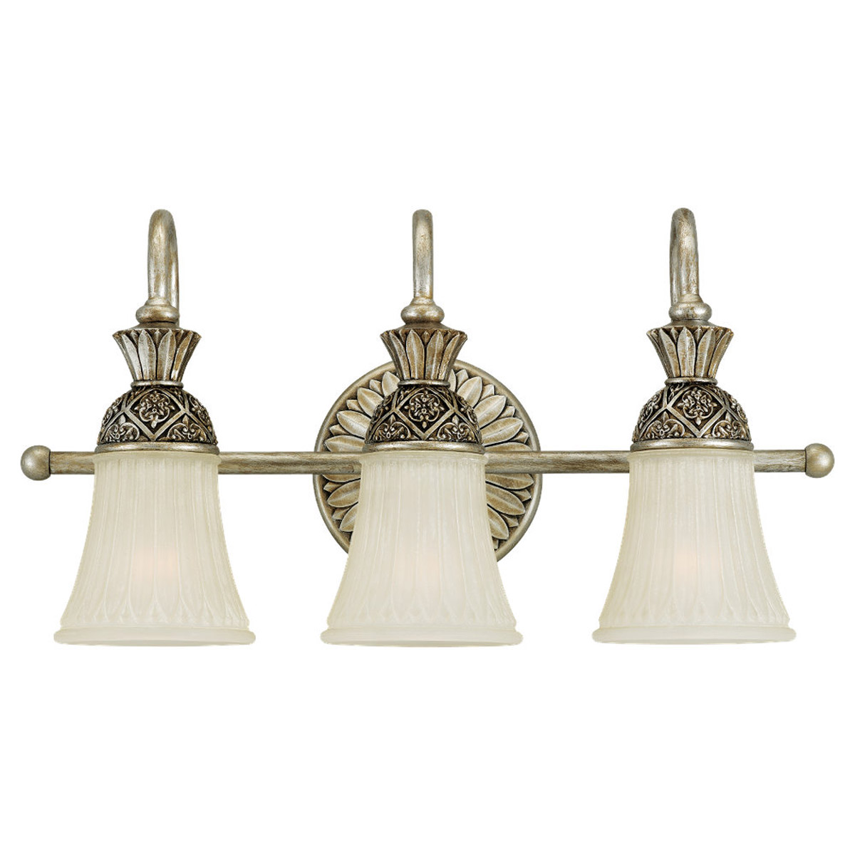 Sea Gull Lighting Highlands 3 Light Bath Vanity in Palladium 47252-824 photo