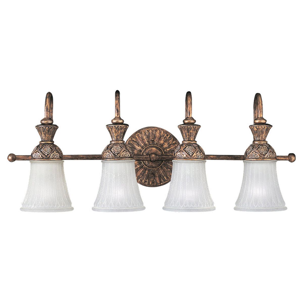 Sea Gull Lighting Highlands 4 Light Bath Vanity in Regal Bronze 47253-758