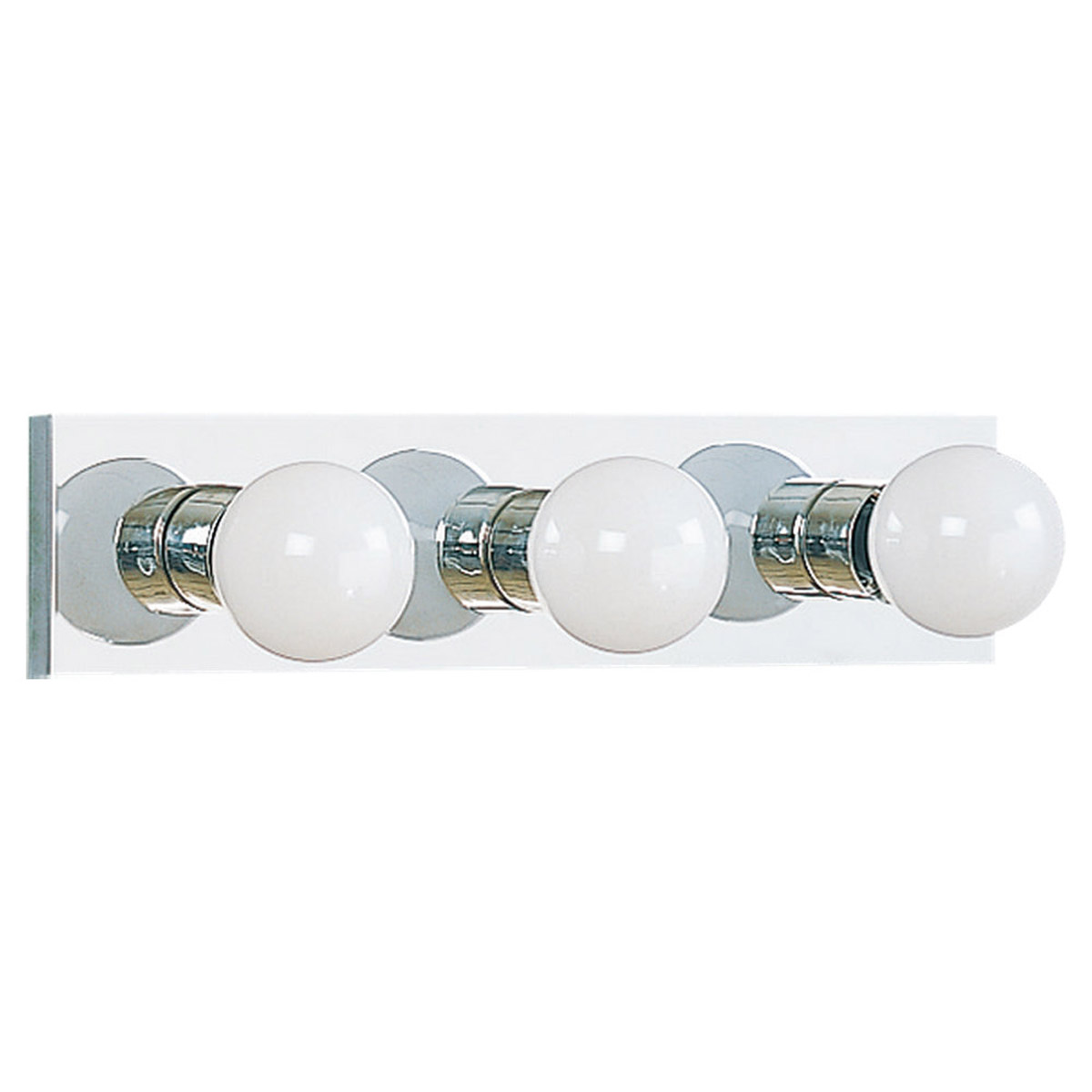 Sea Gull 4737-05 Center Stage 3 Light 18 inch Chrome Bath Vanity Wall Light photo
