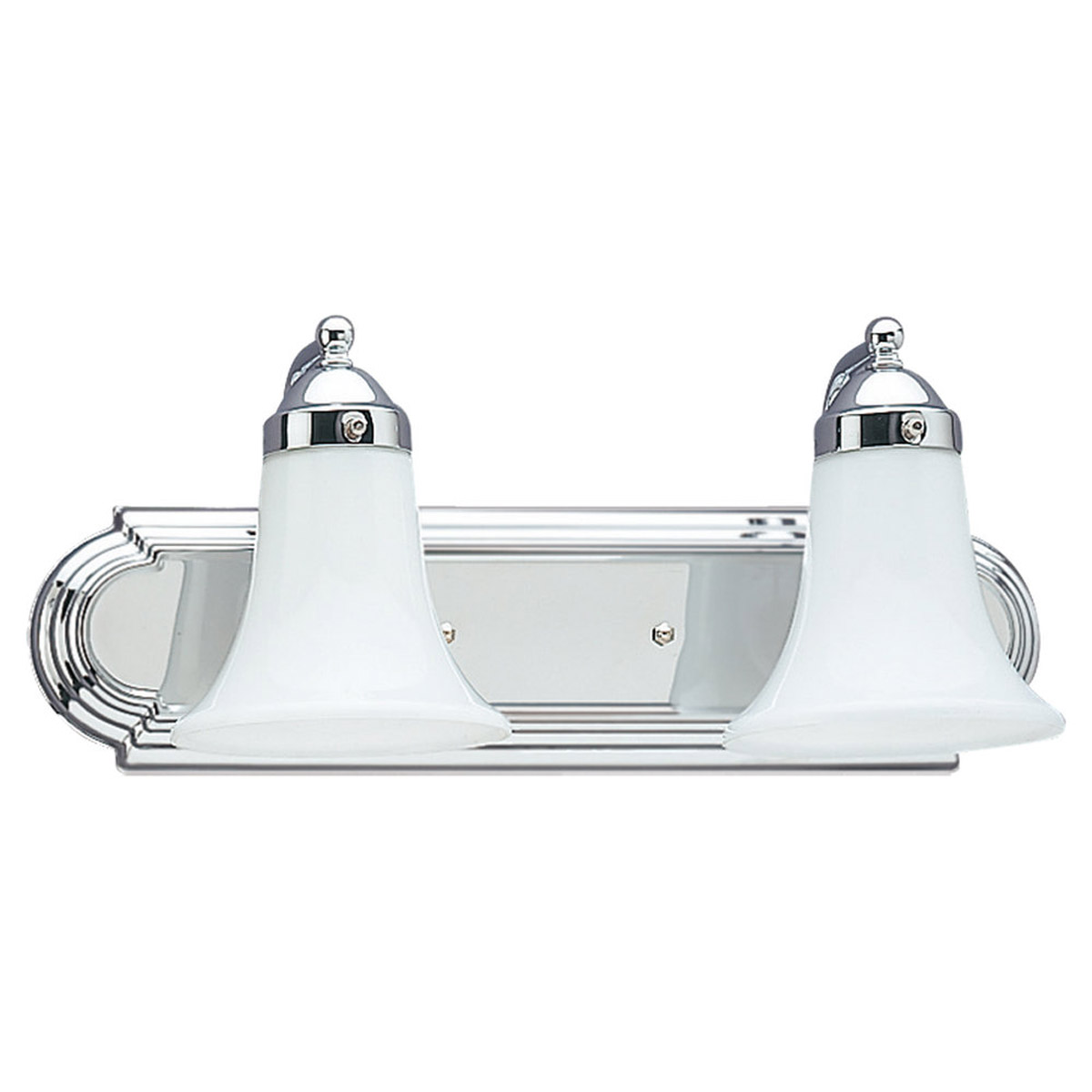 Sea Gull Lighting Astoria 2 Light Bath Vanity in Chrome 4858-05