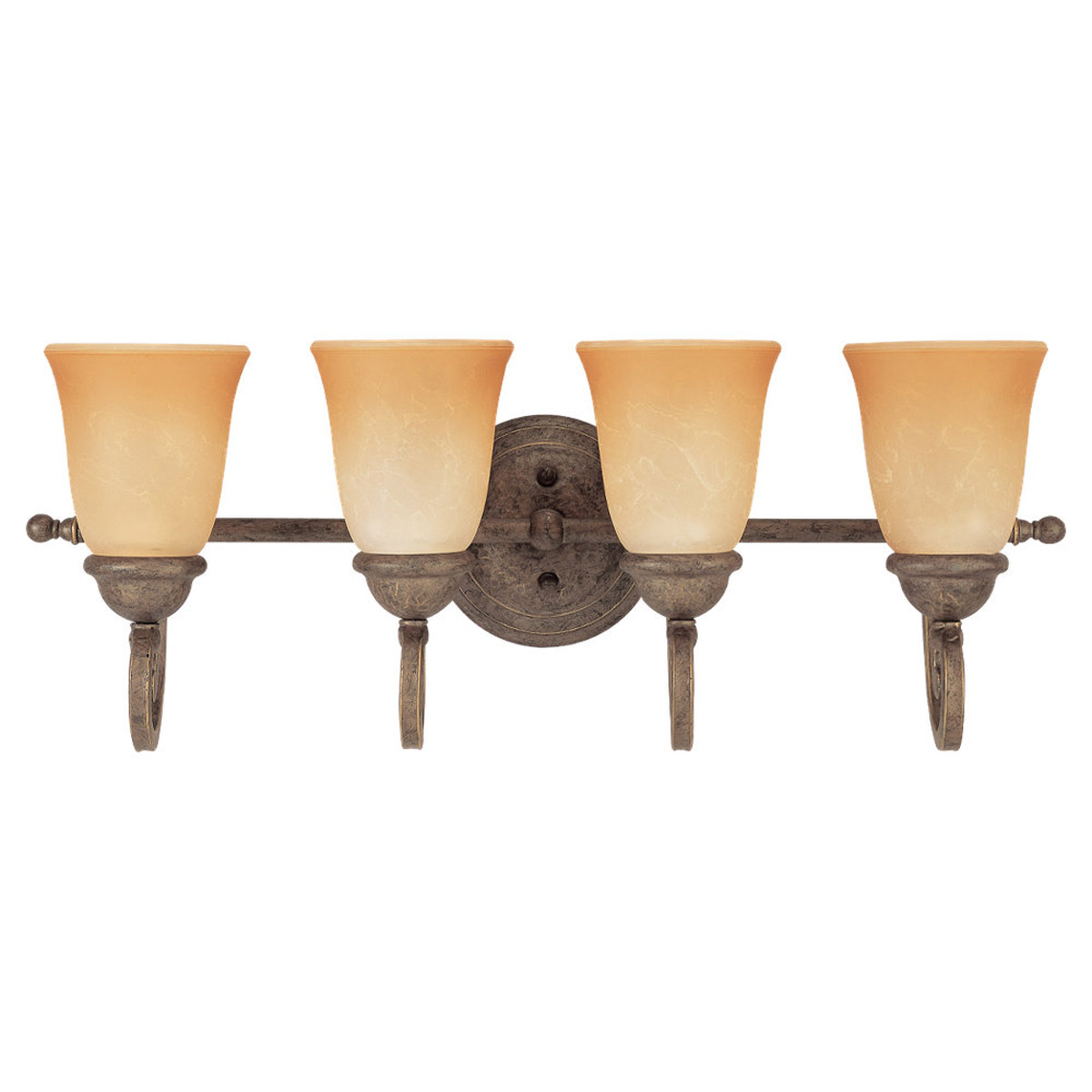 Sea Gull Lighting Brandywine 4 Light Bath Vanity in Antique Bronze 49034BLE-71