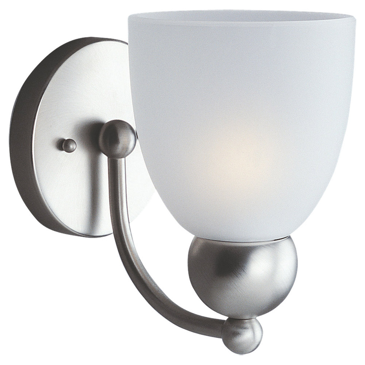 Sea Gull Lighting Metropolis 1 Light Bath Vanity in Brushed Nickel 49035BLE-962