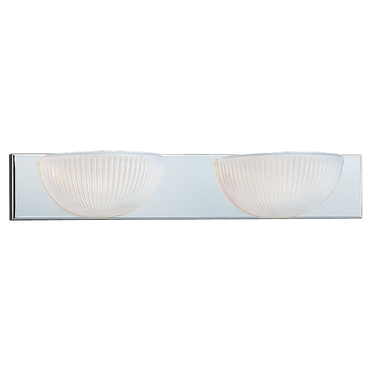 Sea Gull Lighting Aberdeen 2 Light Bath Vanity in Chrome 4904BLE-05