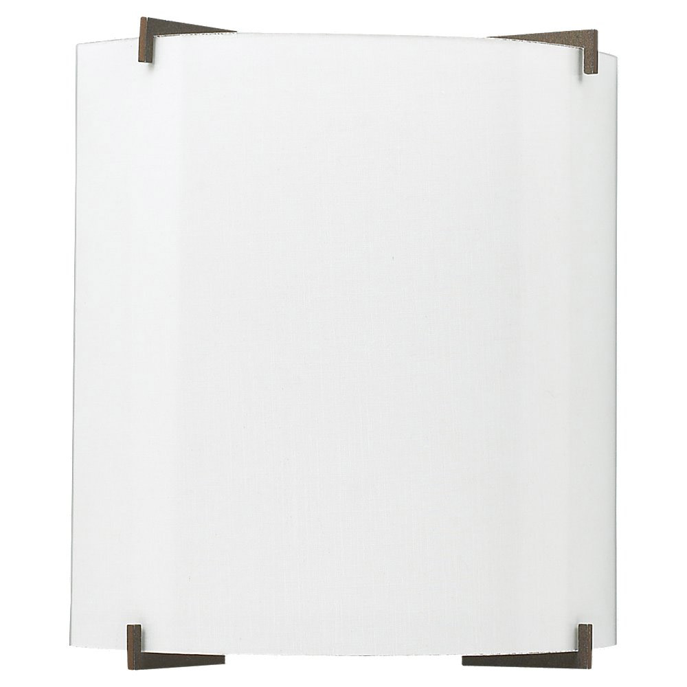 Sea Gull Lighting Art Paper 1 Light Wall Sconce in White Linen 49101L-630