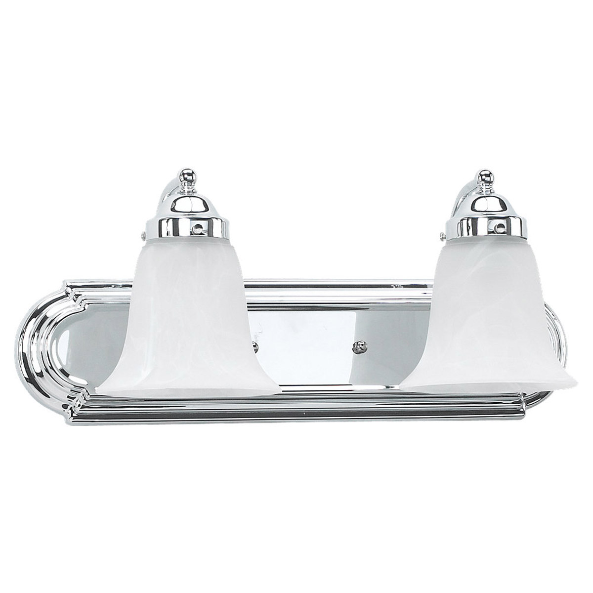 Sea Gull Lighting Astoria 2 Light Bath Vanity in Chrome 49290BLE-05