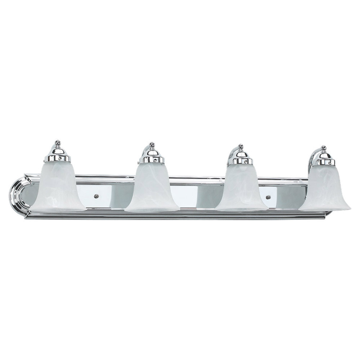 Sea Gull Lighting Astoria 4 Light Bath Vanity in Chrome 49292BLE-05