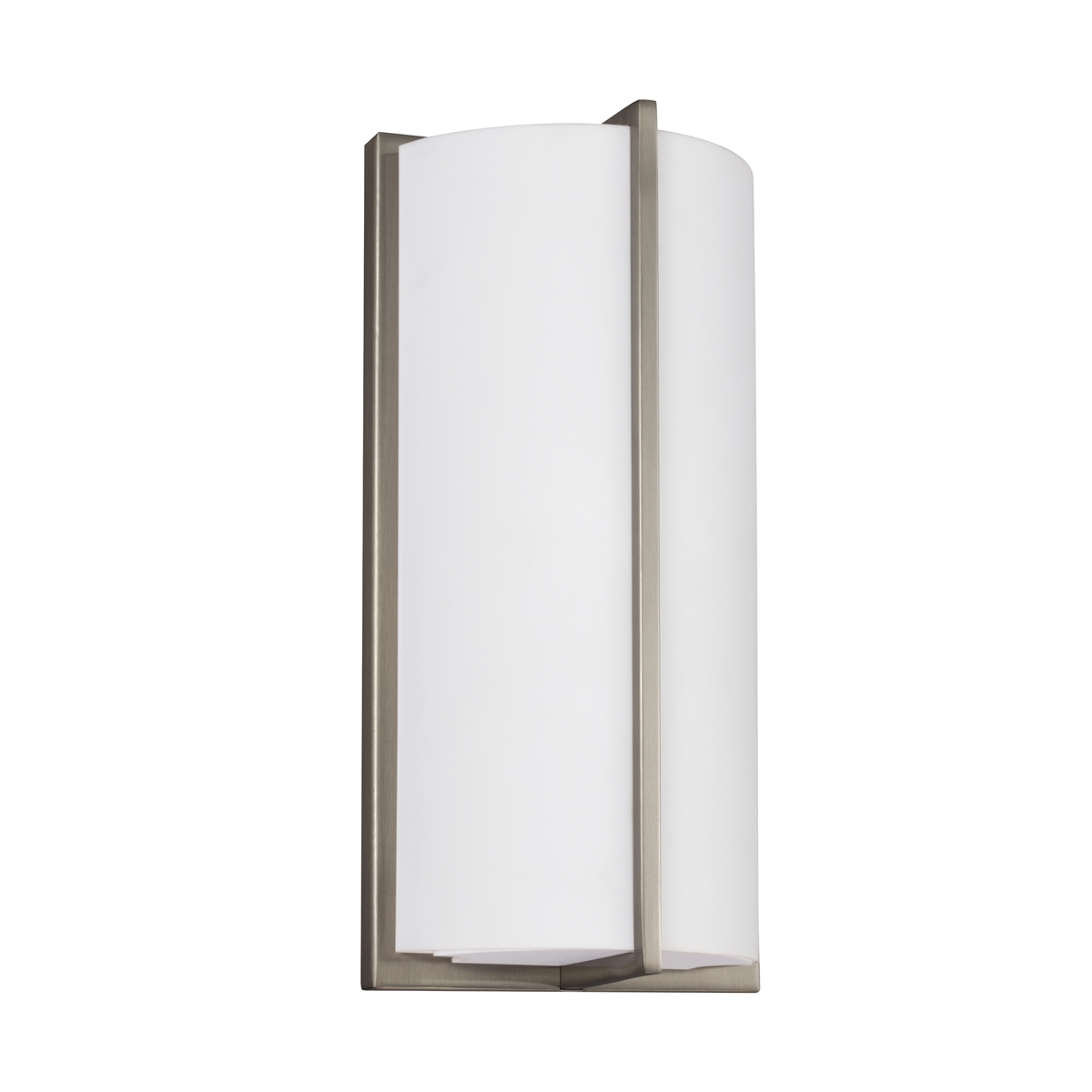 Sea gull 4934091s 962 ada 6 inch brushed nickel bath sconce wall light aloadofball Images