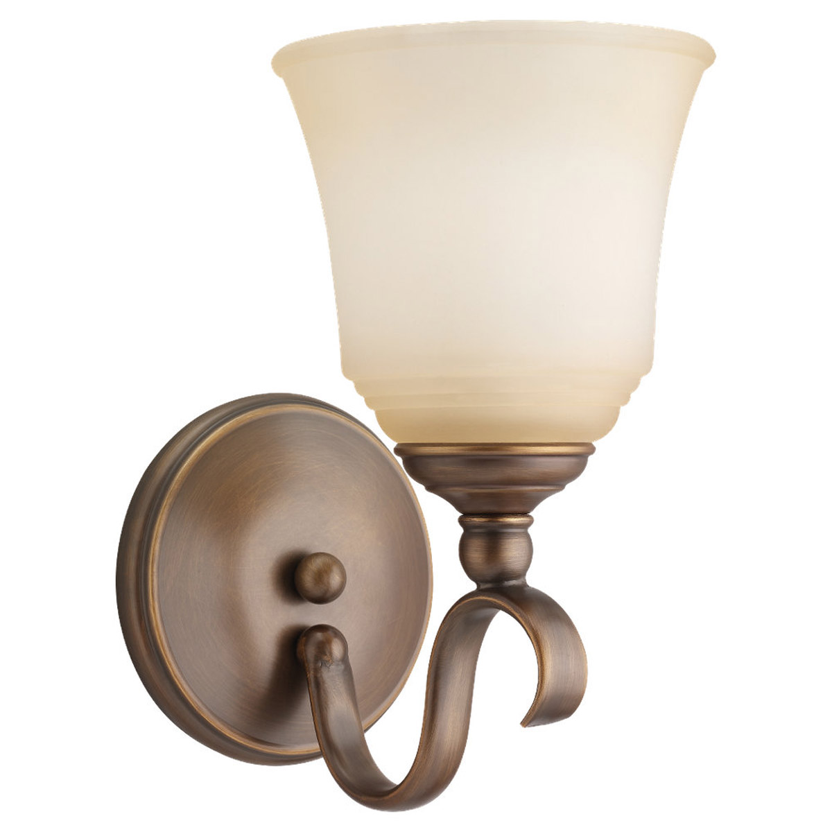Sea Gull Lighting Parkview 1 Light Bath Vanity in Russet Bronze 49380BLE-829