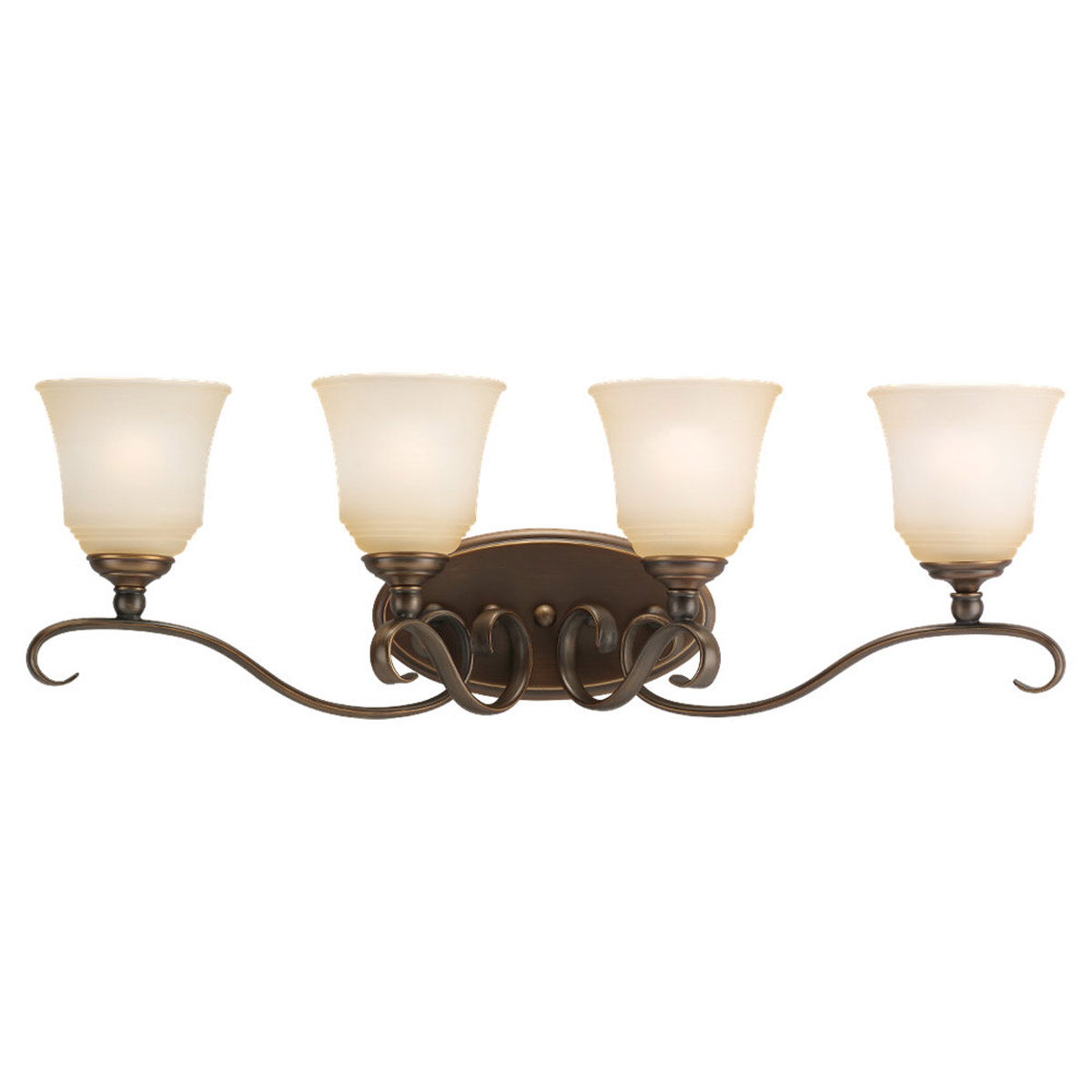 Sea Gull Lighting Parkview 4 Light Bath Vanity in Russet Bronze 49383BLE-829