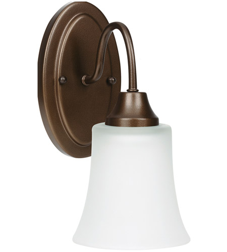 Sea Gull Holman 1 Light Wall Sconce in Bell Metal Bronze 49806BLE-827