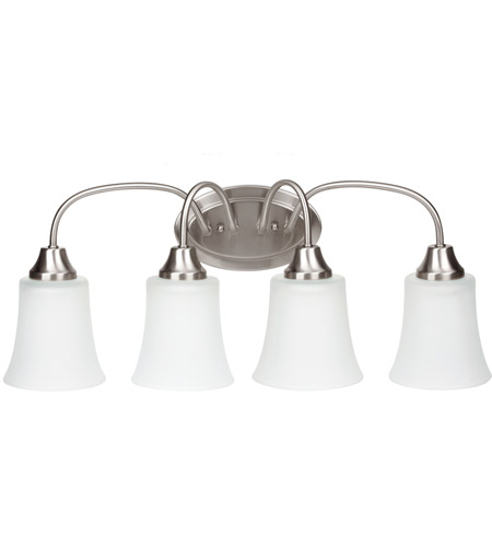 Sea Gull Holman 4 Light Bath Light in Brushed Nickel 49809BLE-962