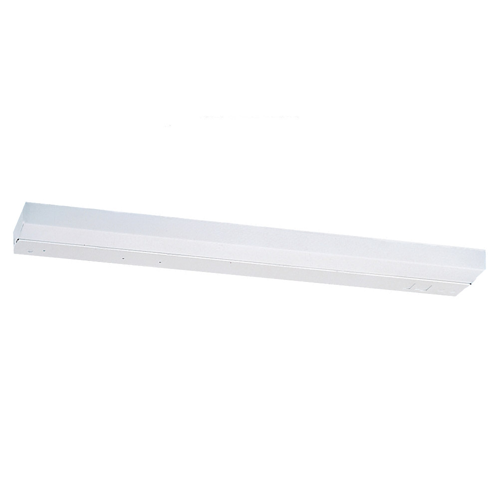 Sea Gull Lighting Undercabinet Fluorescent 1 Light Fluorescent Wall/Bath/Vanity in White 4983-15