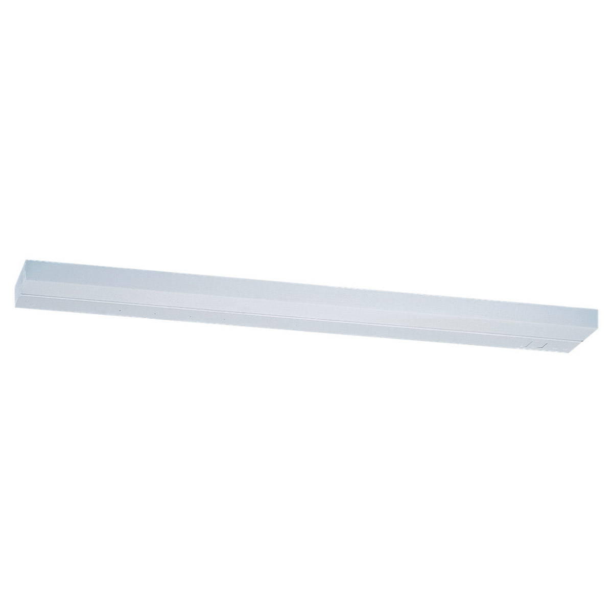 Sea Gull Lighting Radius 1 Light Fluorescent Wall/Bath/Vanity in White 4984-15 photo