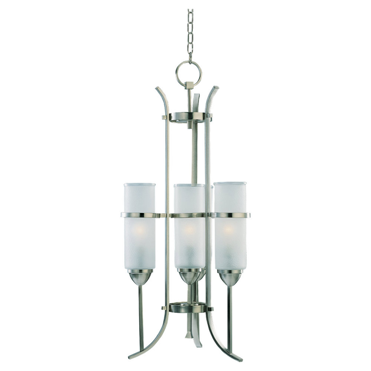 Sea Gull Lighting Eternity 4 Light Chandelier in Brushed Nickel 51115-962 photo