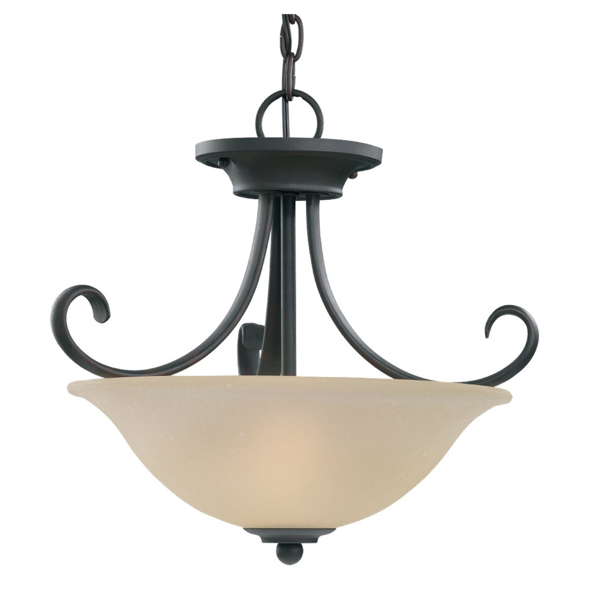 Sea Gull Lighting Del Prato 2 Light Pendant Convertible in Chestnut Bronze 51120-820 photo