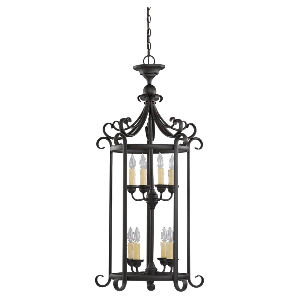 Sea Gull 51121-820 Del Prato 8 Light 21 inch Chestnut Bronze Foyer Pendant Ceiling Light photo