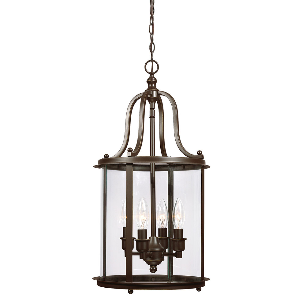 Sea Gull Gillmore 4 Light Hall/Foyer Pendant in Heirloom Bronze 5118404-782