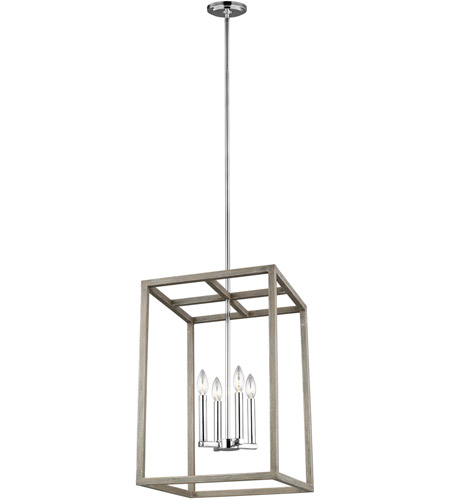 Sea gull 5134504en 872 moffet street 4 light 16 inch washed pine foyer pendant ceiling